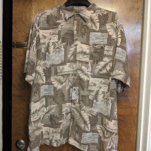 David Taylor Collection Mens Hawaiian Shirt 3XL